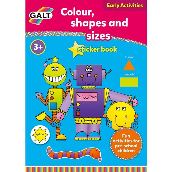 GALT Book COLOUR SHAPES & SIZES
